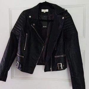 NWT Vegan Leather Jacket Nasty Gal JCL